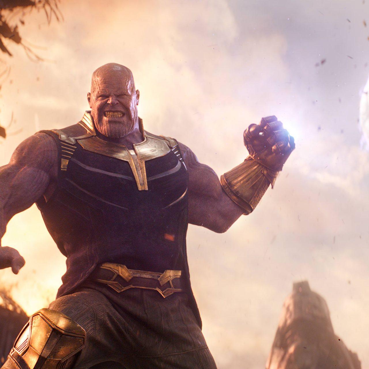 Superman Logo Wallpaper For Iphone Avengers Infinity War 2018 Thanos 4k Ultra Hd Wallpaper