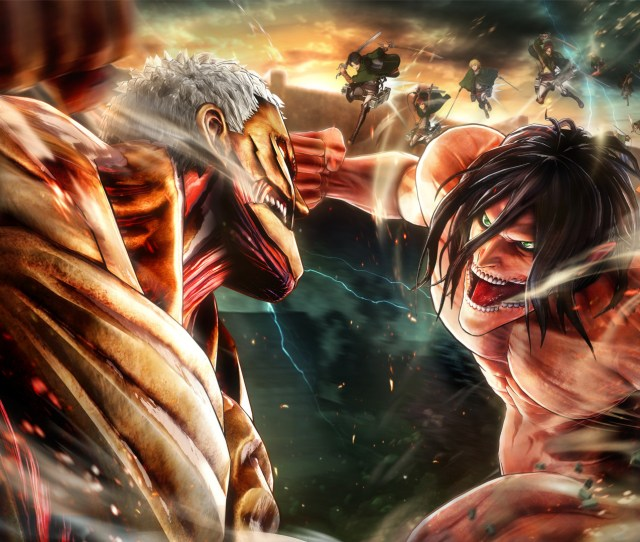 Armored Titan Wallpaper From Attack On Titan 2