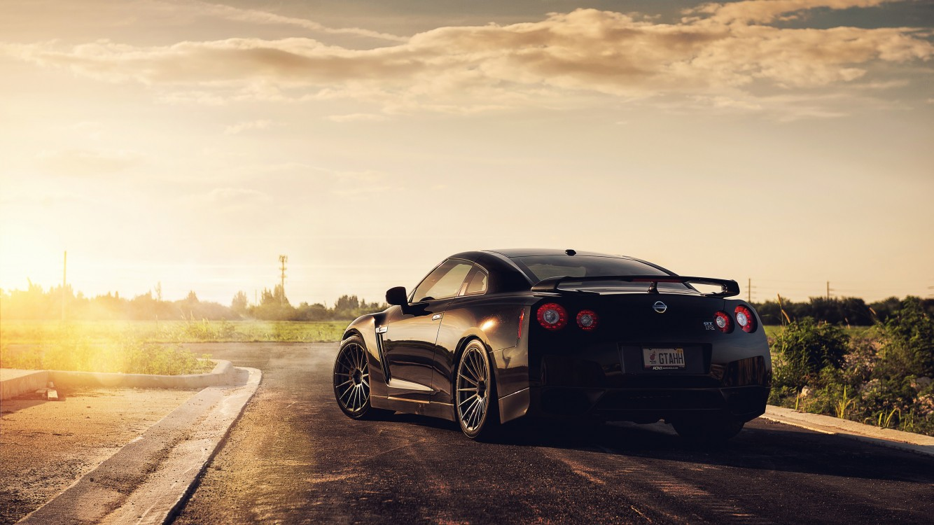 hit 2021, exclusive collection wallpapers access more than 1,000,000 wallpapers with daily updates! Nissan Gtr Black Car Wallpaper For Desktop And Mobiles Iphone 7 Iphone 8 Hd Wallpaper Wallpapers Net