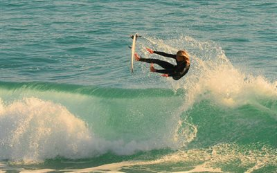 Beautiful Colorful Girls Anime Wallpaper Download Wallpapers Surfing Waves Surfer Girl Big Wave