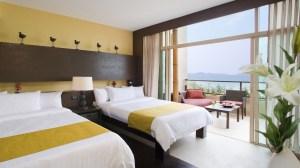 hotel bed modern background 1080p stylish