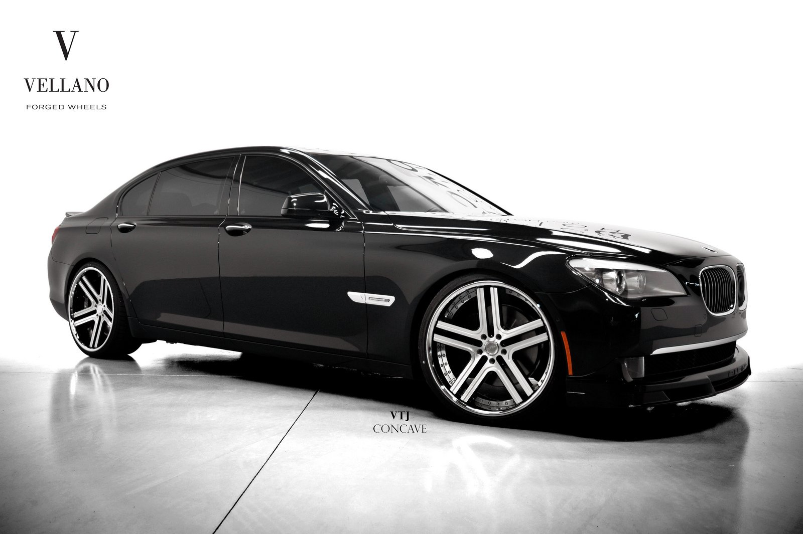 Since 1975, bmw has been running its unique art ca. Bmw 7 Series Black Vellano Wheels Tuning Cars Wallpaper Wallpapers Book Your 1 Source For Free Download Hd 4k High Quality Wallpapers