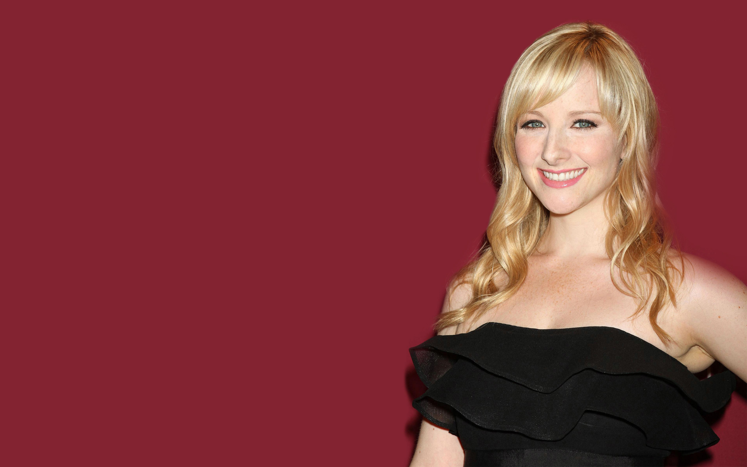 Barbie Doll Wallpaper Hd Melissa Rauch Hd Wallpapers For Desktop Download