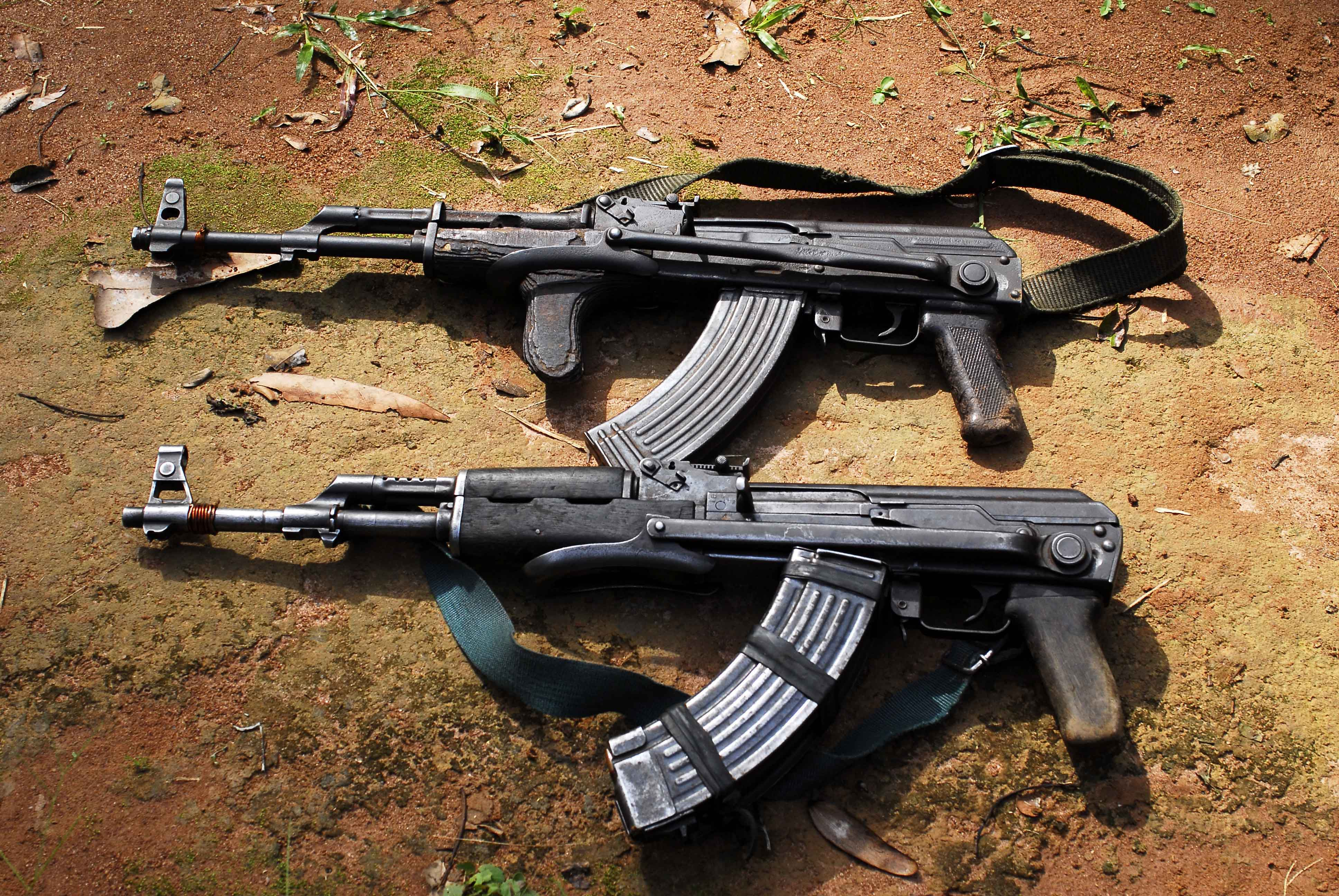 Image result for AK-47 rifles, photos
