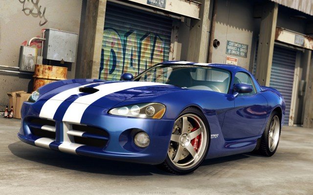 Download wallpaper with cars Dodge with tags: Desktop, Viper