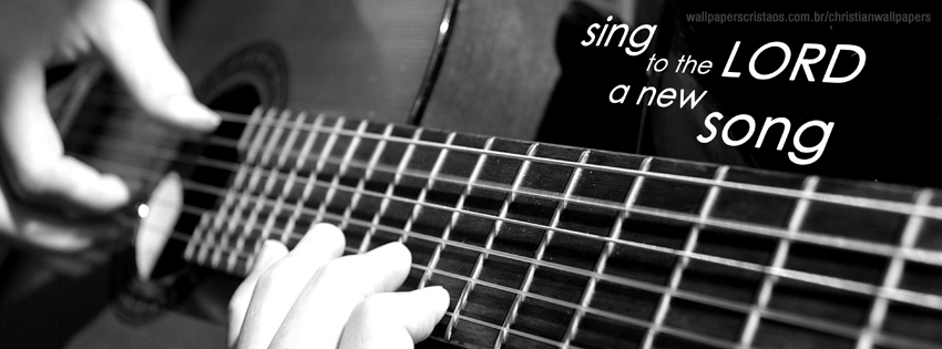 Acoustic Guitar Wallpaper For Facebook Cover With Quotes Sing Christian Wallpapers