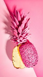 pineapple iphone pink wallpapers backgrounds mobile hd pineapples computer ananas tropical cute android background fondos pantalla trendy aesthetic resolution colorful