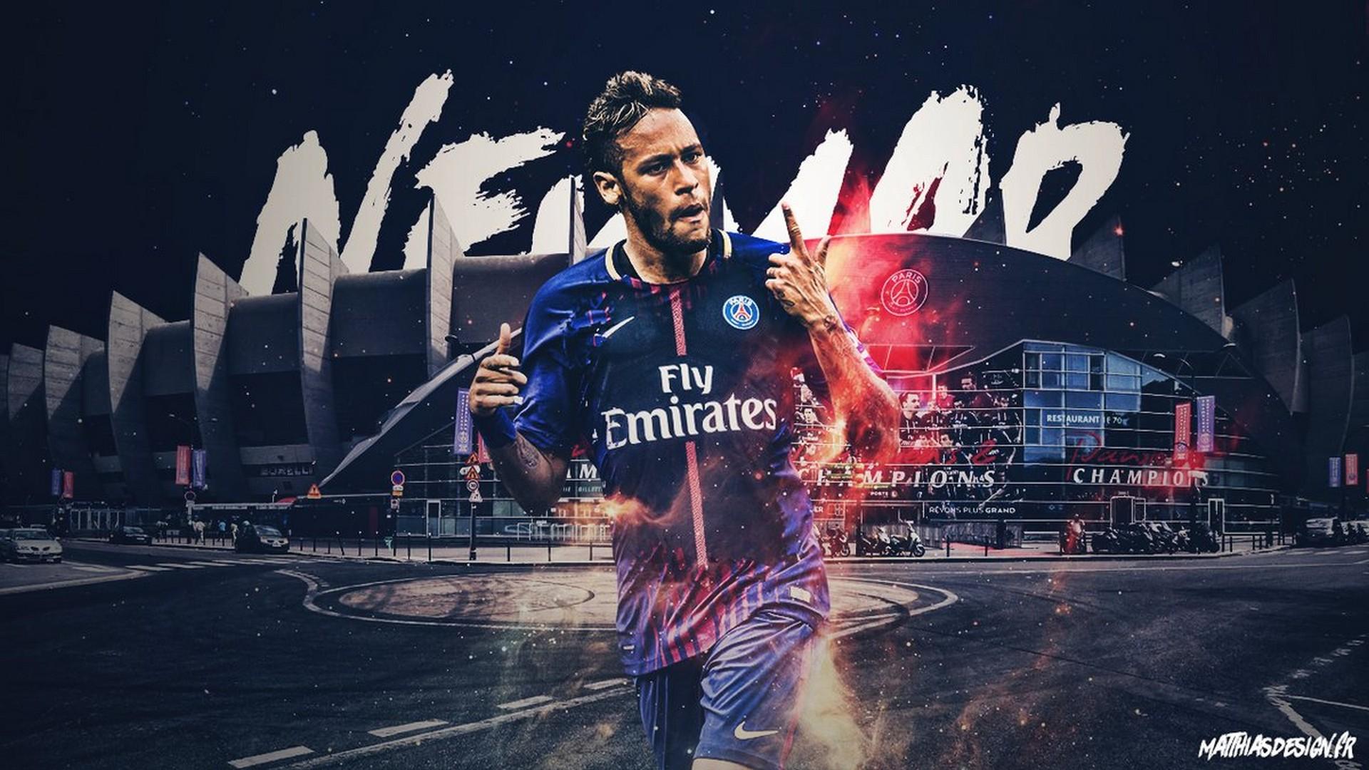 neymar psg wallpaper for desktop 2021