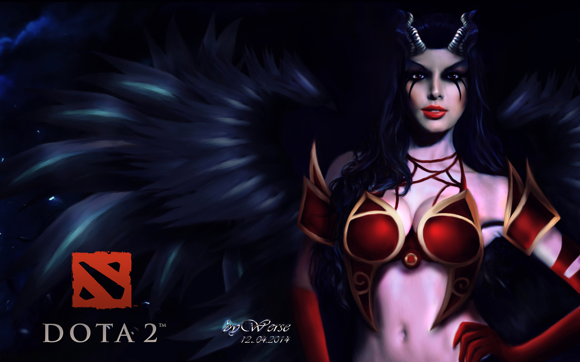 Queen Of Pain 2 Wallpapers Dota 2 Private Collection