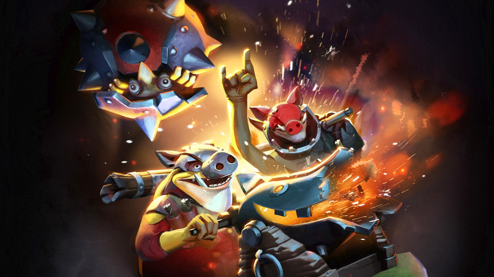Techies Wallpapers Dota 2 Full HD 1920x1080 Wallpapers