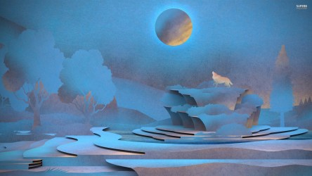 wolf howling moon howlin wolves wallpapers walldevil hd wallpaperplay