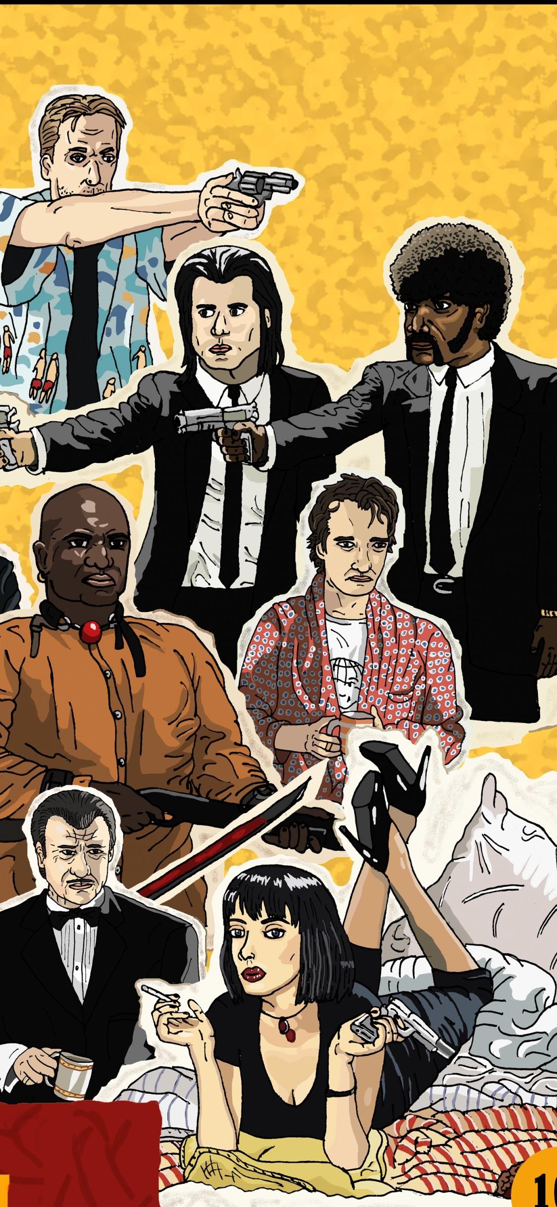 Pulp Fiction Wallpaper Iphone - Best Wallpapers