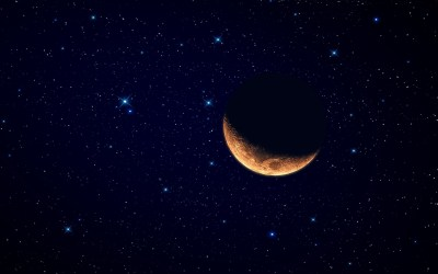 Moon Red Wolf Wallpaper 4