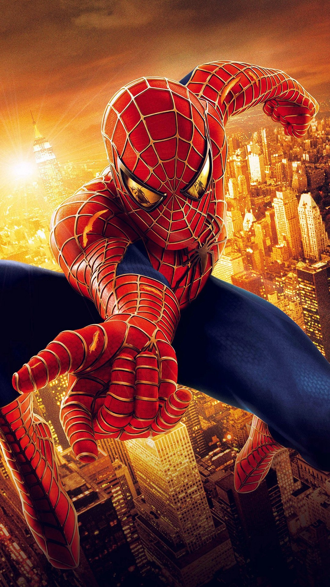 Spider Man Logo Red Wallpapers