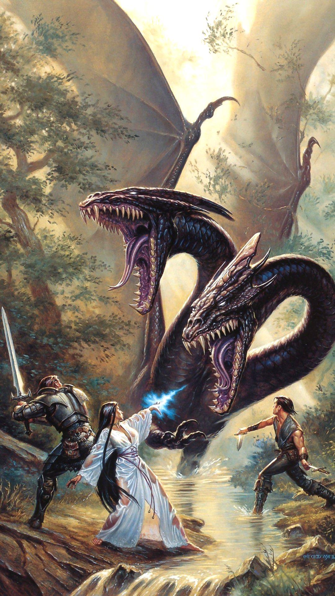 iPhone 8 Dragon Wallpaper
