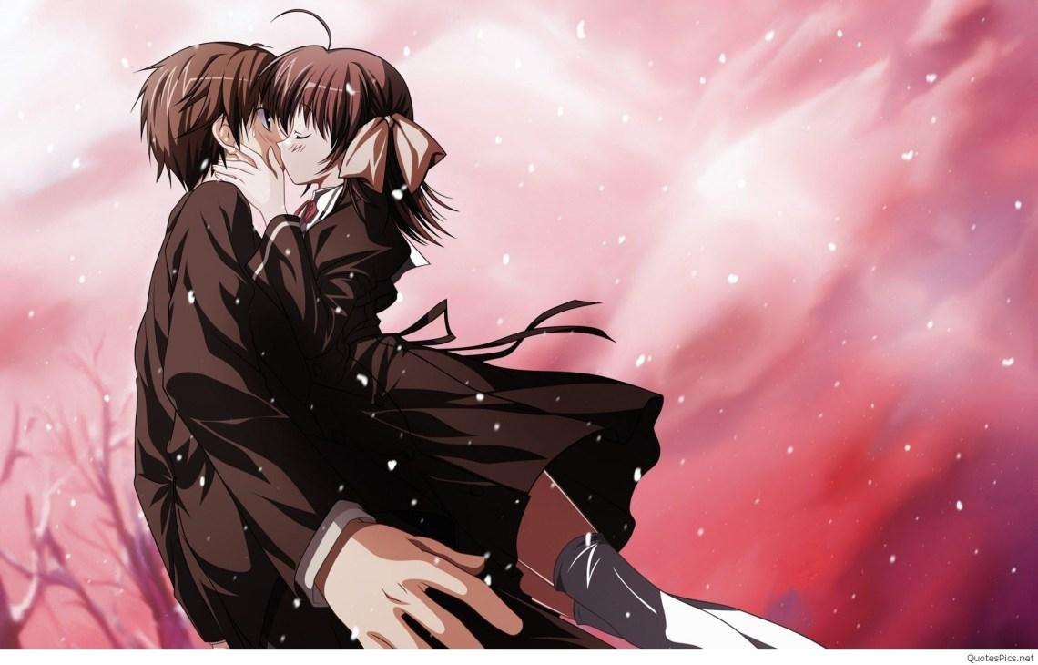 16 Sad Anime Couple Wallpaper Hd