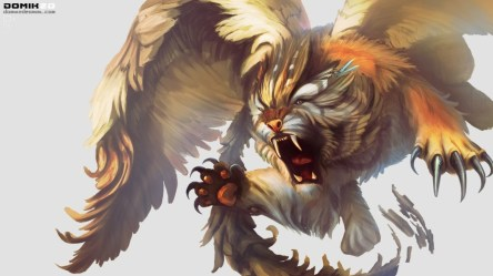 Griffins Mythical Creatures Wallpaper 69+ pictures