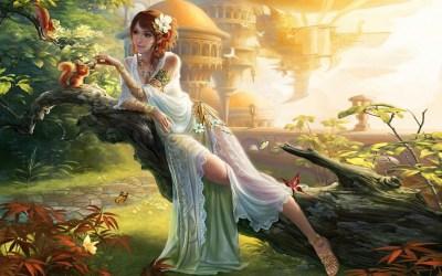 fantasy princess wallpapers hd garden dress castle flower hair 1920 1200 wallpapers13 1920a desktop