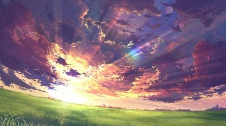 anime landscape wallpapers peaceful nature peace