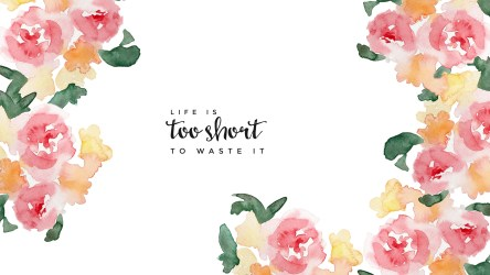 backgrounds computer cute wallpapers laptop desktop hd quotes cactus imac background girly quote pc short done shit floral waste too