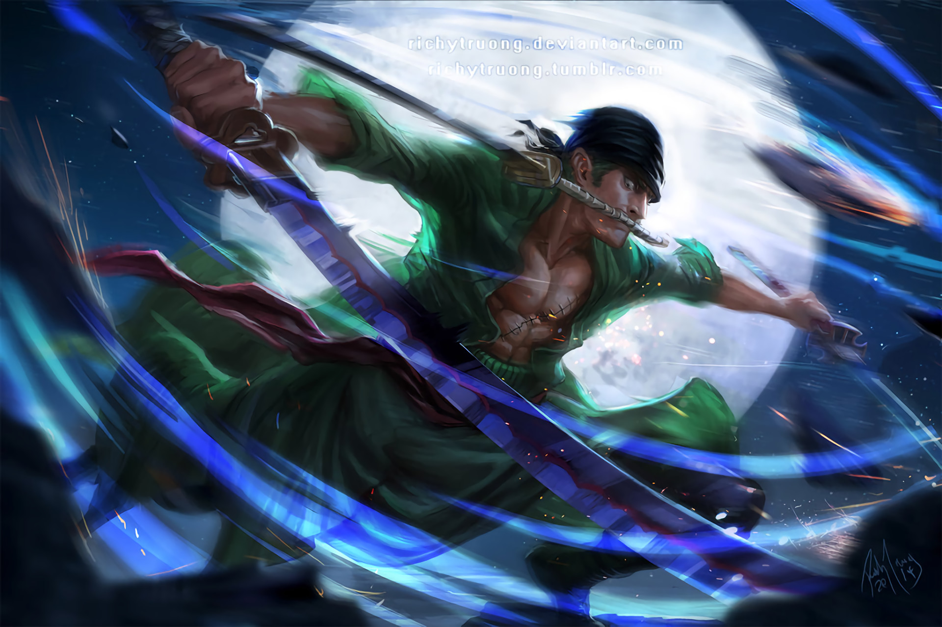 We choose the most relevant backgrounds for different devices. Roronoa Zoro Wallpapers (61+ pictures)