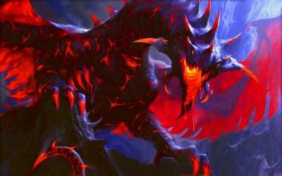 Cool Fire Dragon Wallpaper