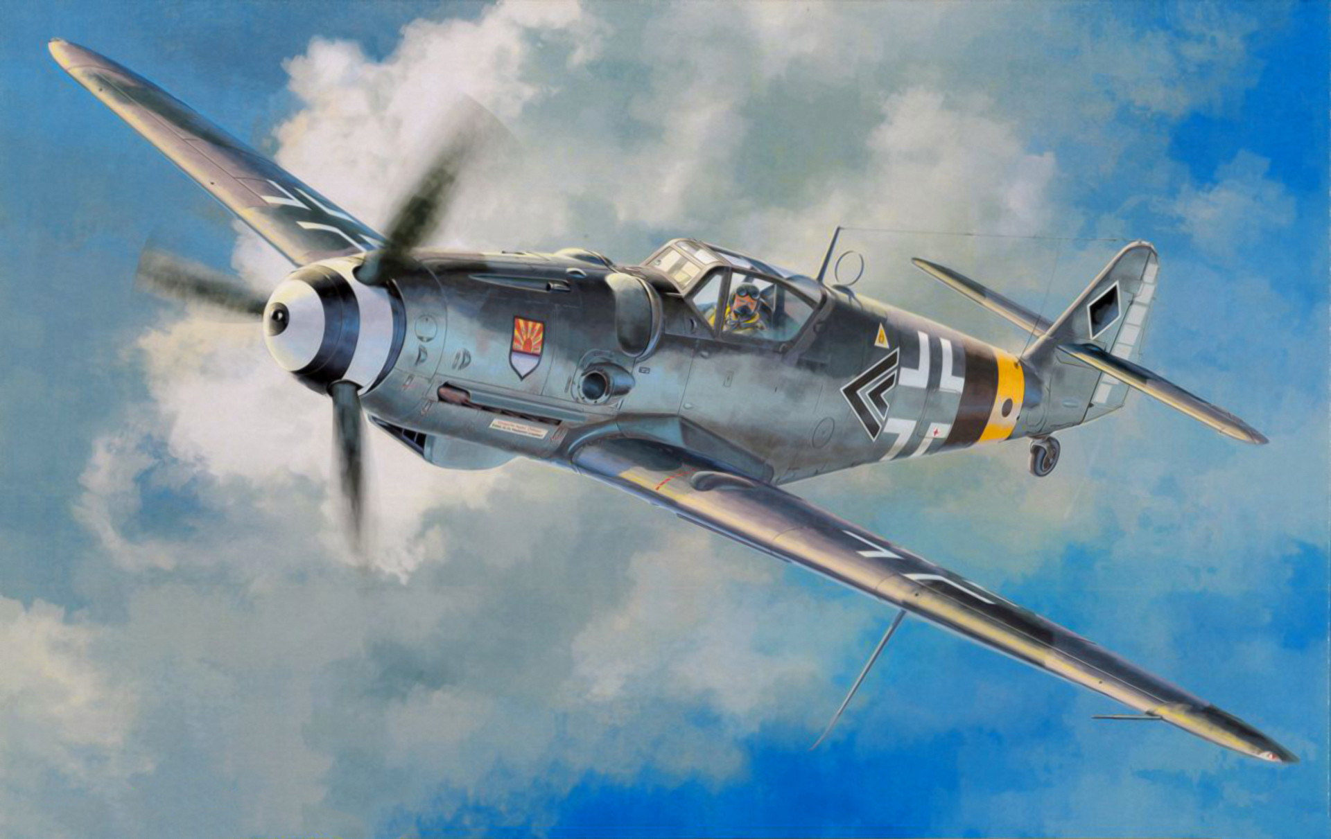 Awesome War Thunder Bf109 G 6 30mm Mk108 Youtube