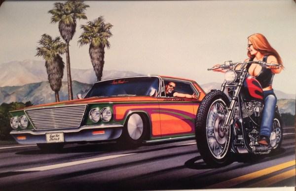 Easy Rider David Mann Art
