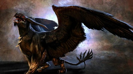 creatures fantasy mythical griffin wallpapers creature animals background griffins abstract hd cool backgrounds beasts desktop computer 1920 windows beauty preview