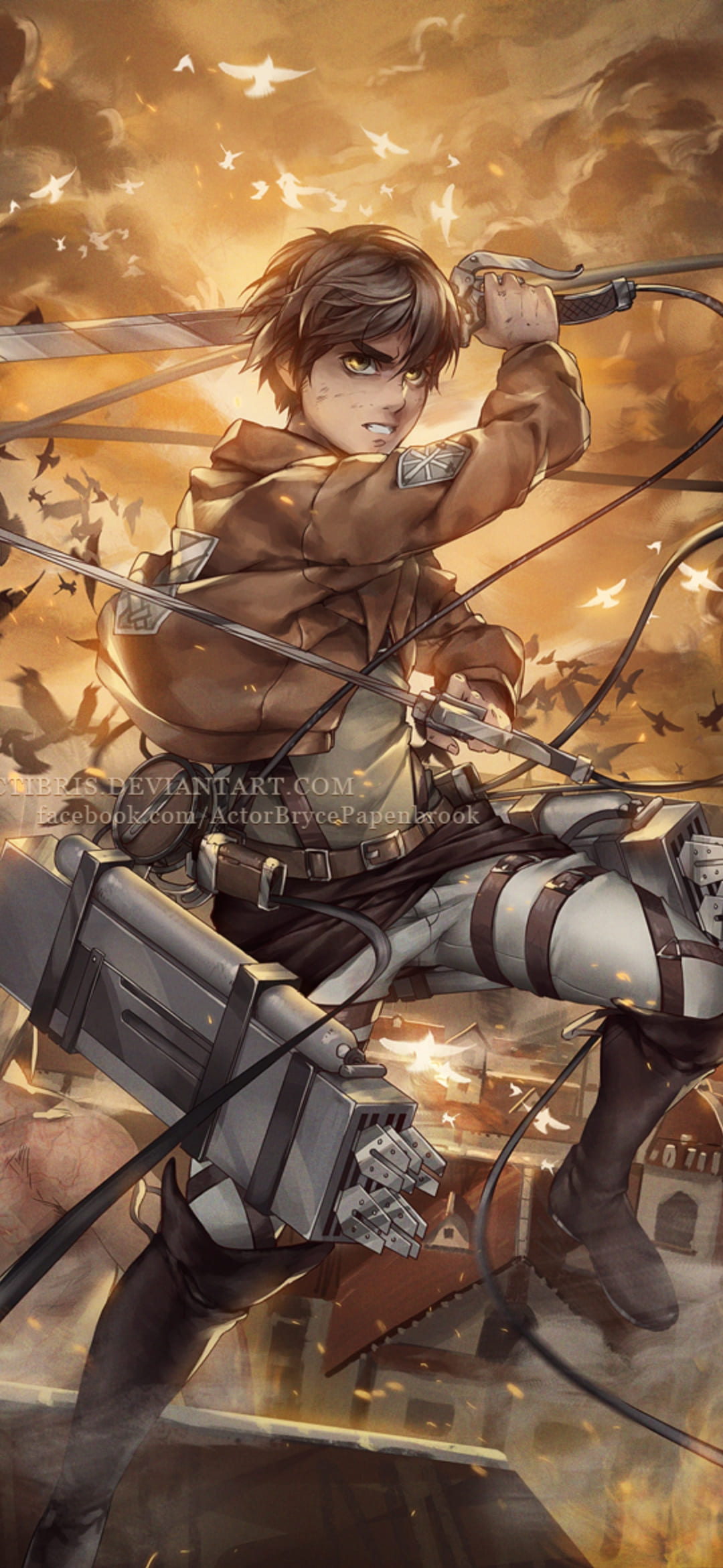Whether it's to pass that big test, qualify for that big prom. Attack On Titan Phone Wallpaper - Top Free Phone ...