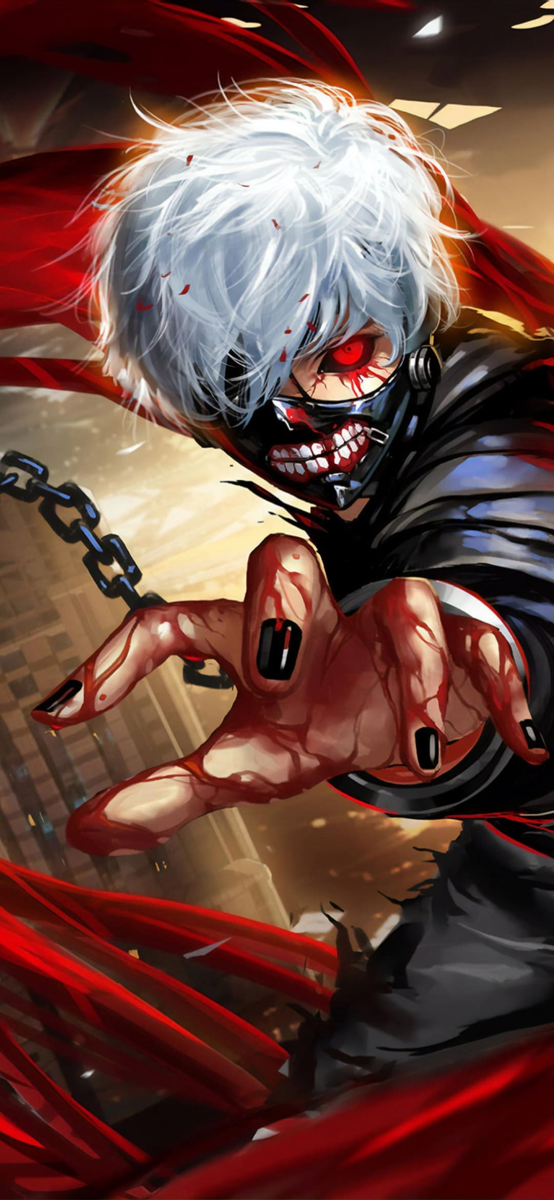 Save wallpaper in the phone Tokyo Ghoul Wallpapers: Top 4k Tokyo Ghoul Backgrounds ...
