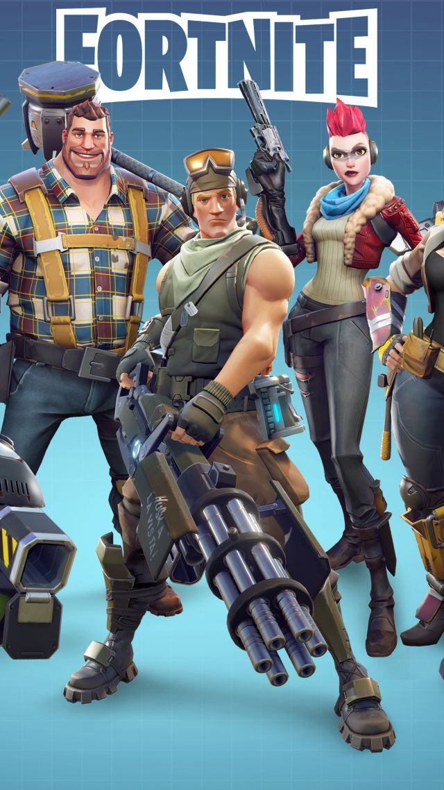 Fortnite Characters Poster Wallpapers
