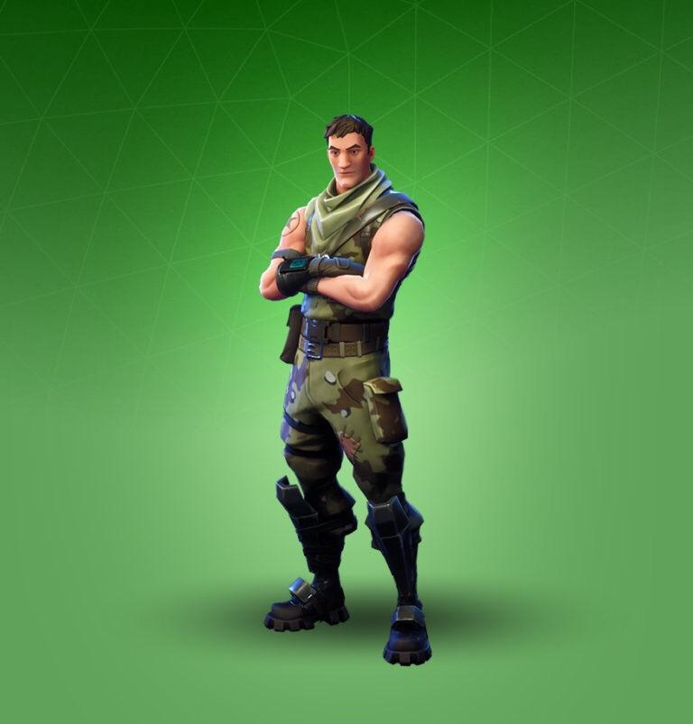 Common Fortnite Skin Wallpaper: Highrise Assault Trooper Fortnite Skin