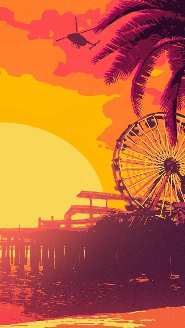 Gta Online Los Santos Summer Wallpaper Wallpapers For Tech