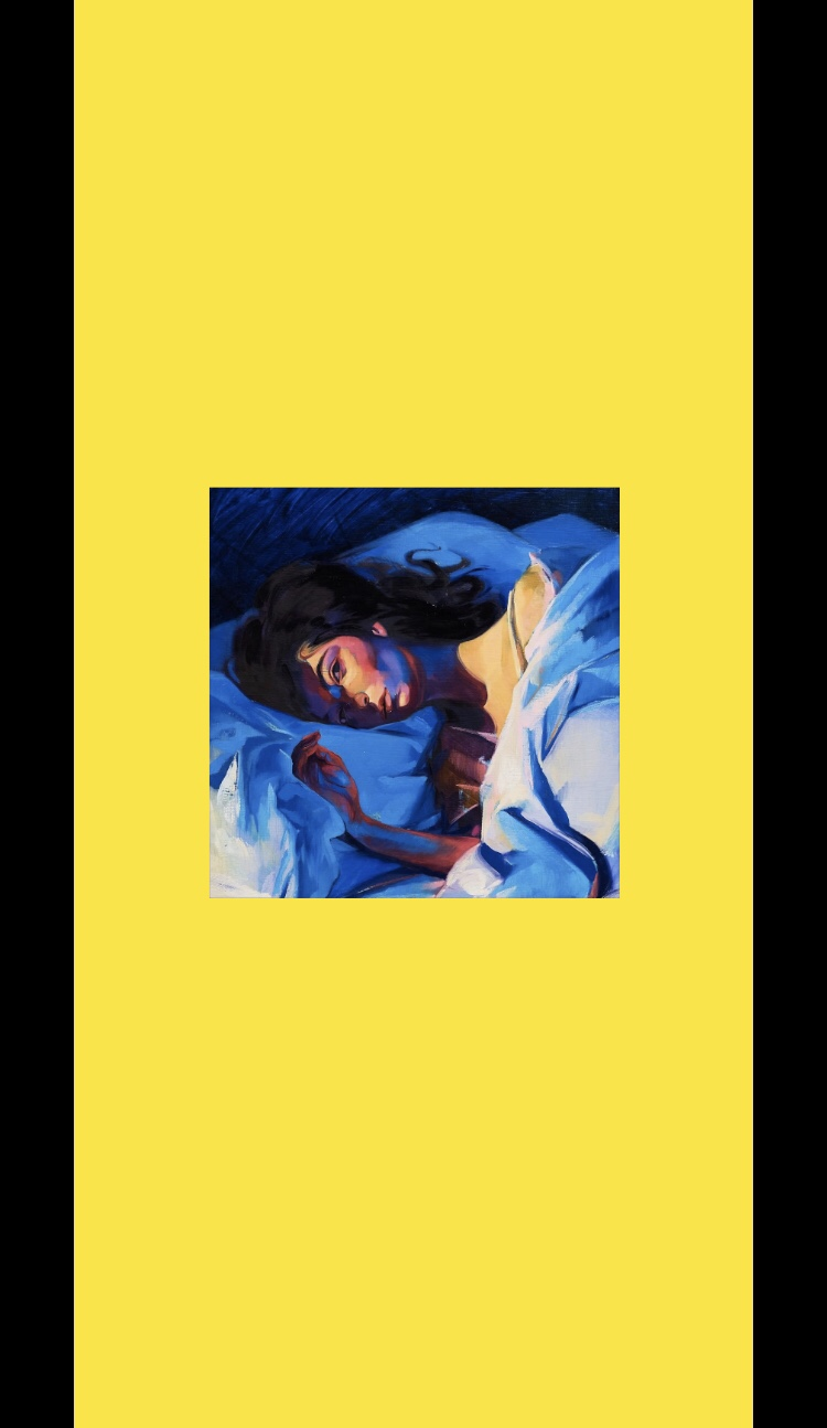 Lorde Melodrama Album Wallpaper Yellow Wallpapers For Tech
