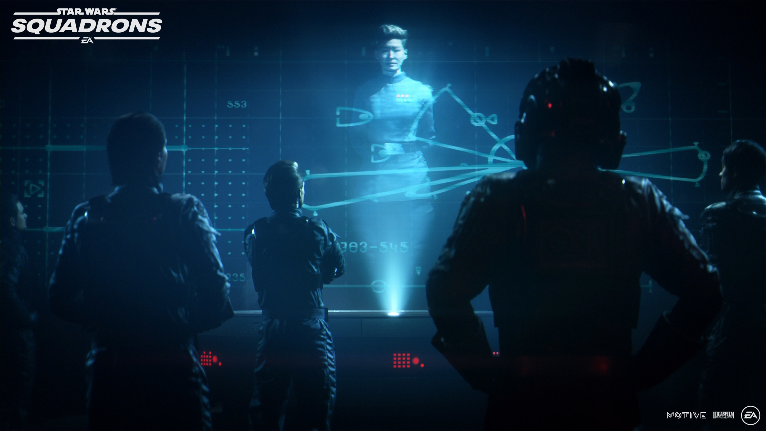 Briefing Hologram Star Wars Squadrons Background