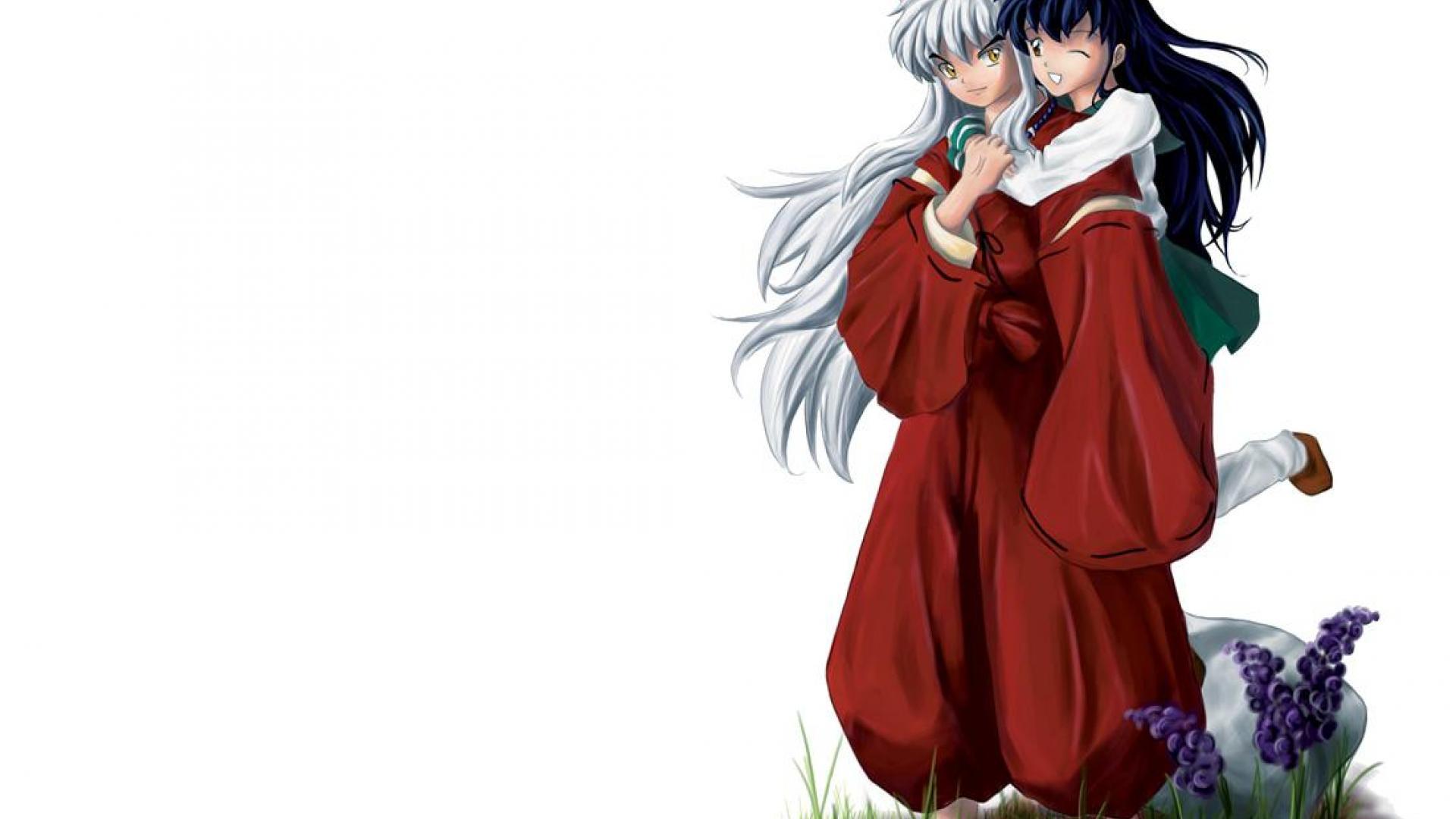 Cute Hugging Couples Wallpapers Inuyasha Wallpaper 5