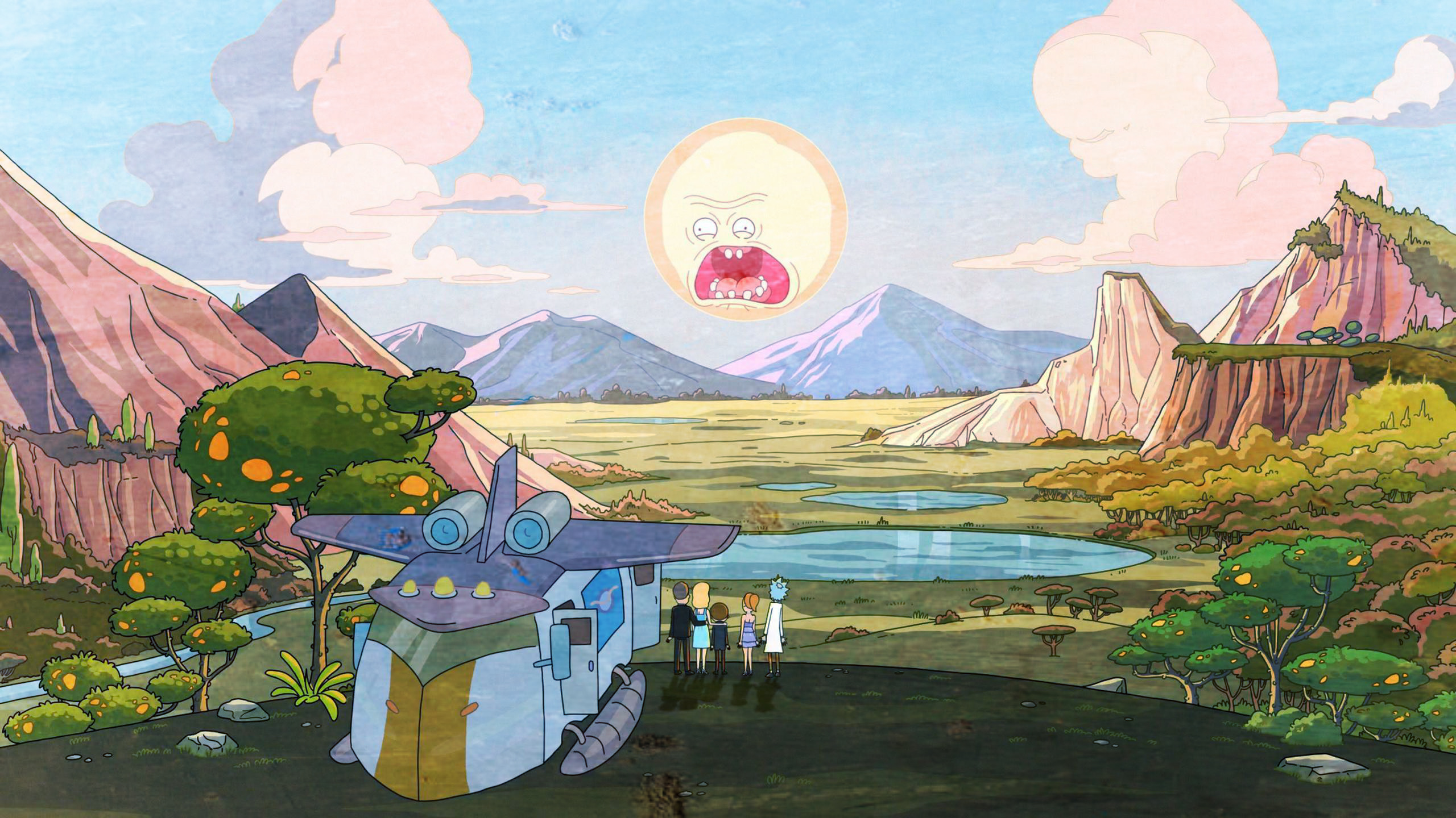 Gravity Falls Wallpaper Pc Rick And Morty Background 47