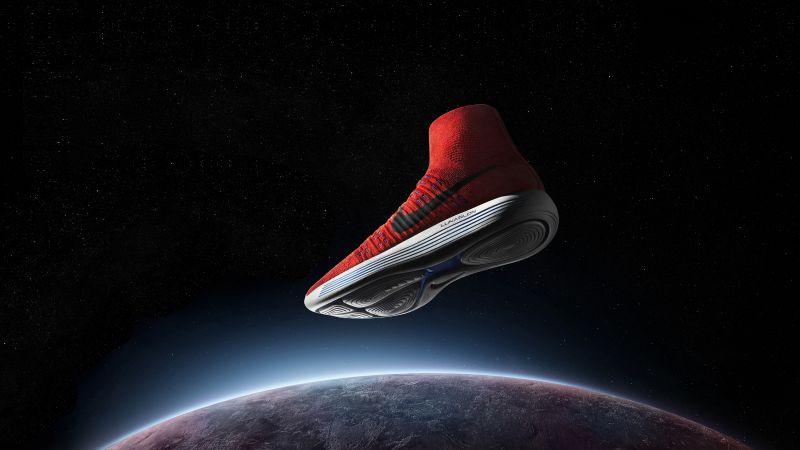Galaxy Girl Wallpaper Wallpaper Nike Lunarepic Flyknit Sneakers Space Sport