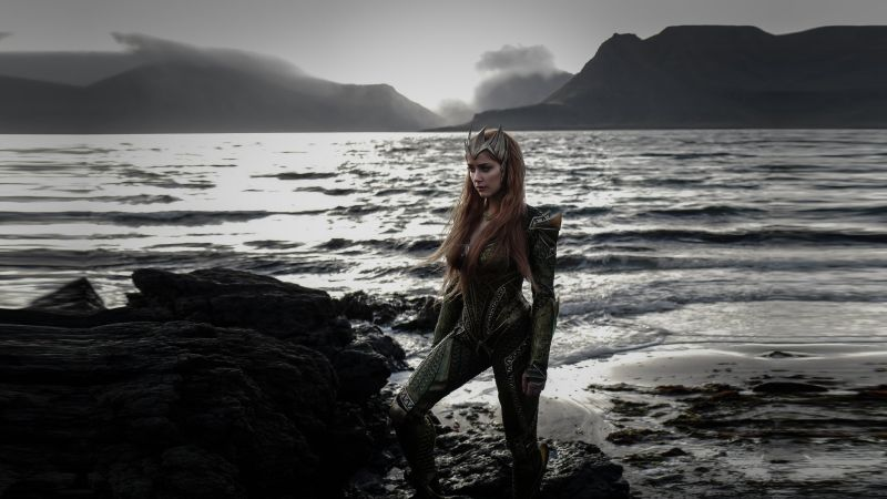 Justice League Girls Wallpaper Wallpaper Justice League Amber Heard Queen Mera Movies