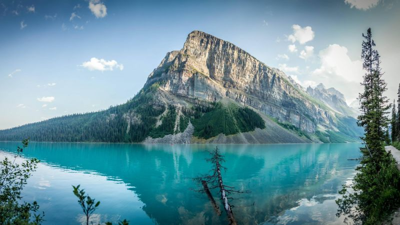 Ios 11 Hd Wallpaper Wallpaper Lake Louise 4k Hd Wallpaper Сanada Travel
