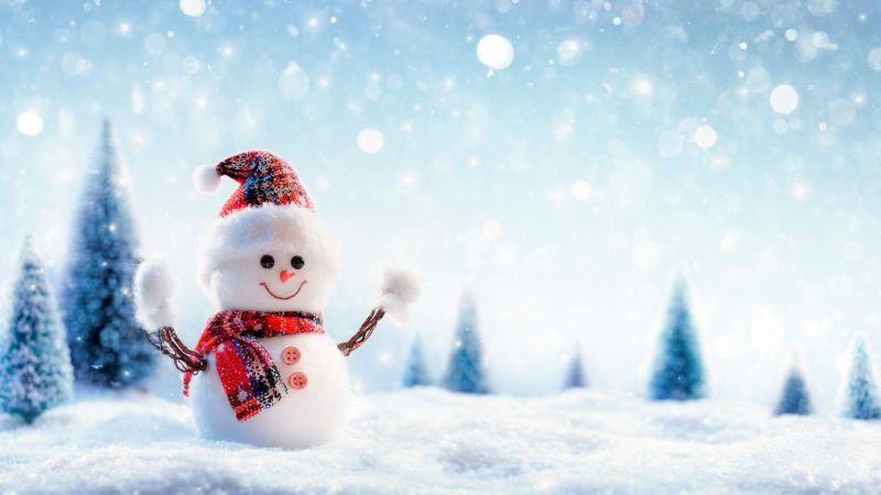 Download Quotes On Life Wallpapers Wallpaper Christmas New Year Snow Winter Snowman 8k