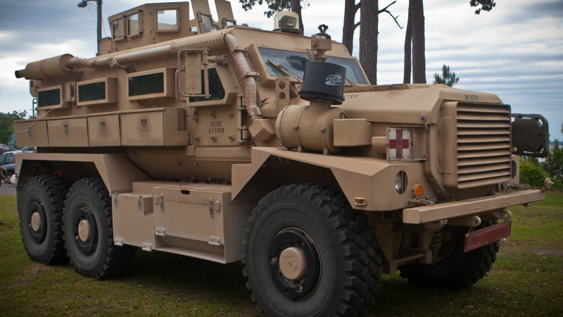Wallpaper RG33L infantry mobility vehicle BAE Systems