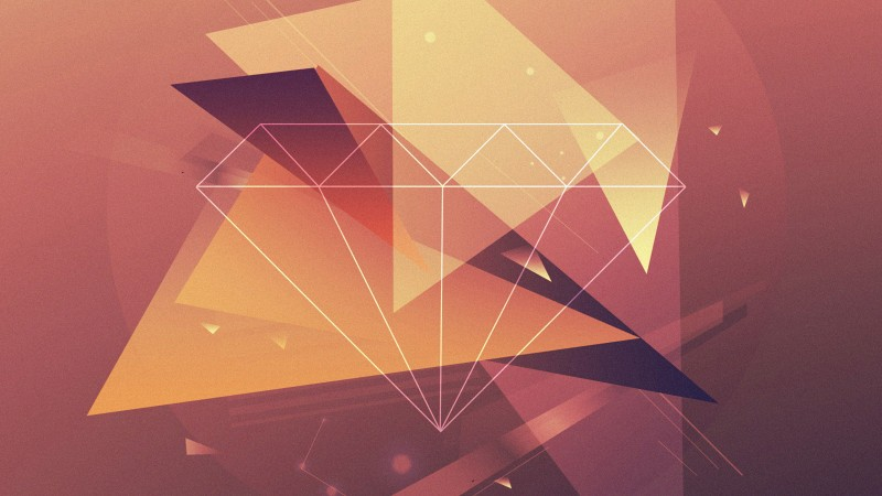 Diamond Iphone Wallpaper Hd Wallpaper Polygon 4k 5k Wallpaper Diamond Lines Brown