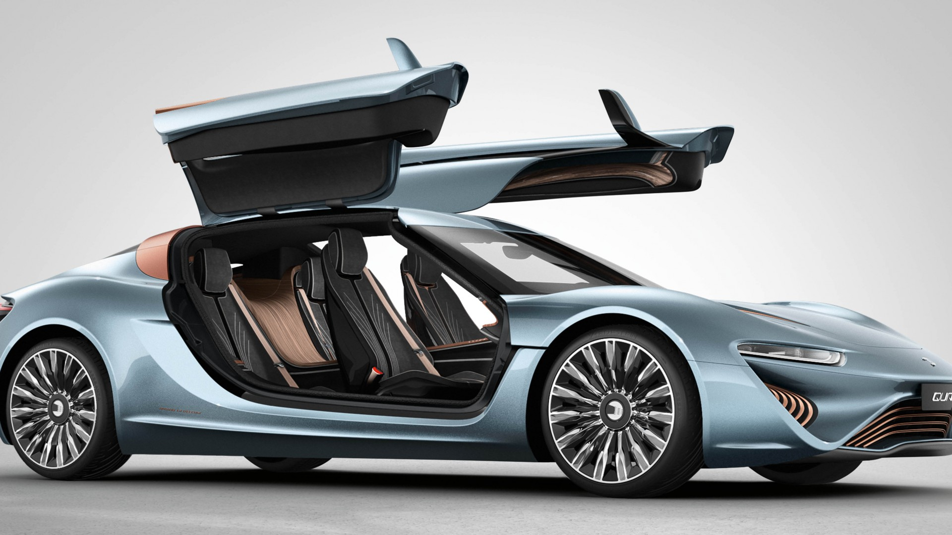 Car In Space Wallpaper Elon Musk Wallpaper Quantino Quant E Electric Cars Best Cars 2015