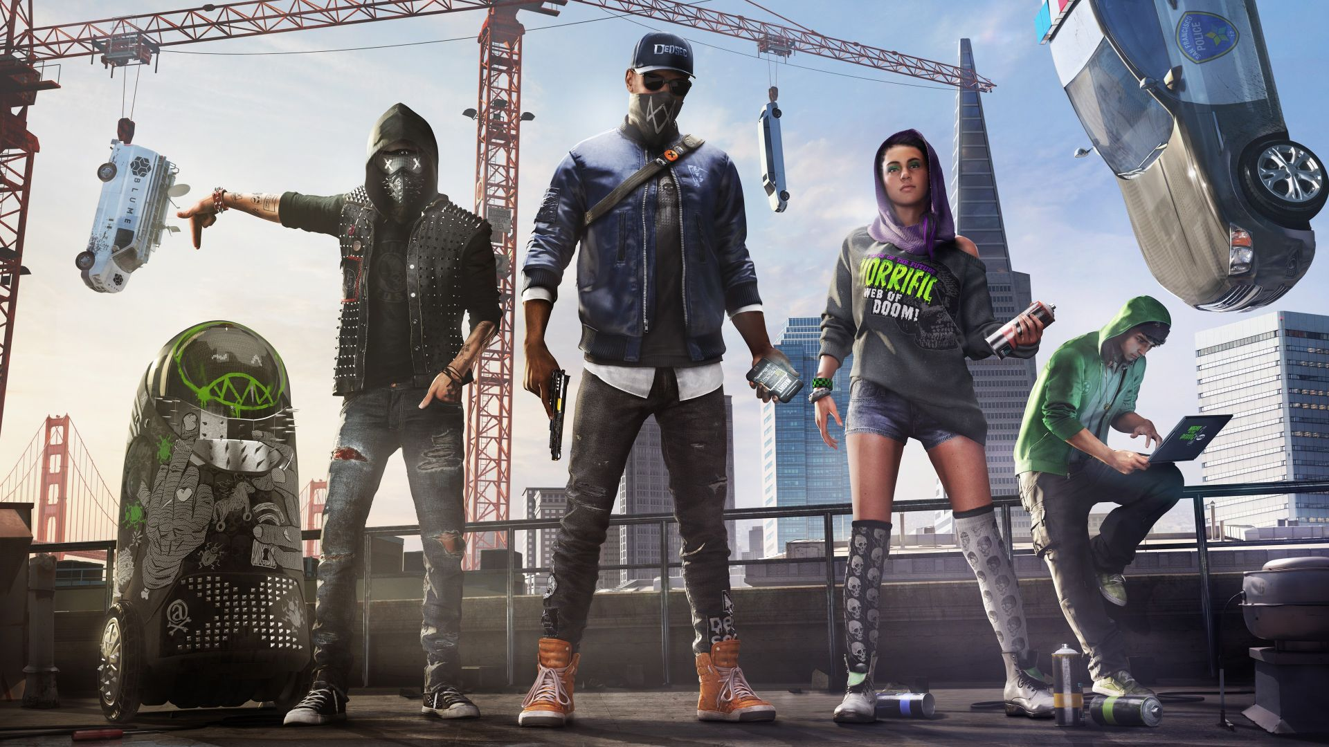 Watch Dogs 2, PC, PlayStation 3, PlayStation 4, Xbox 360, Xbox One