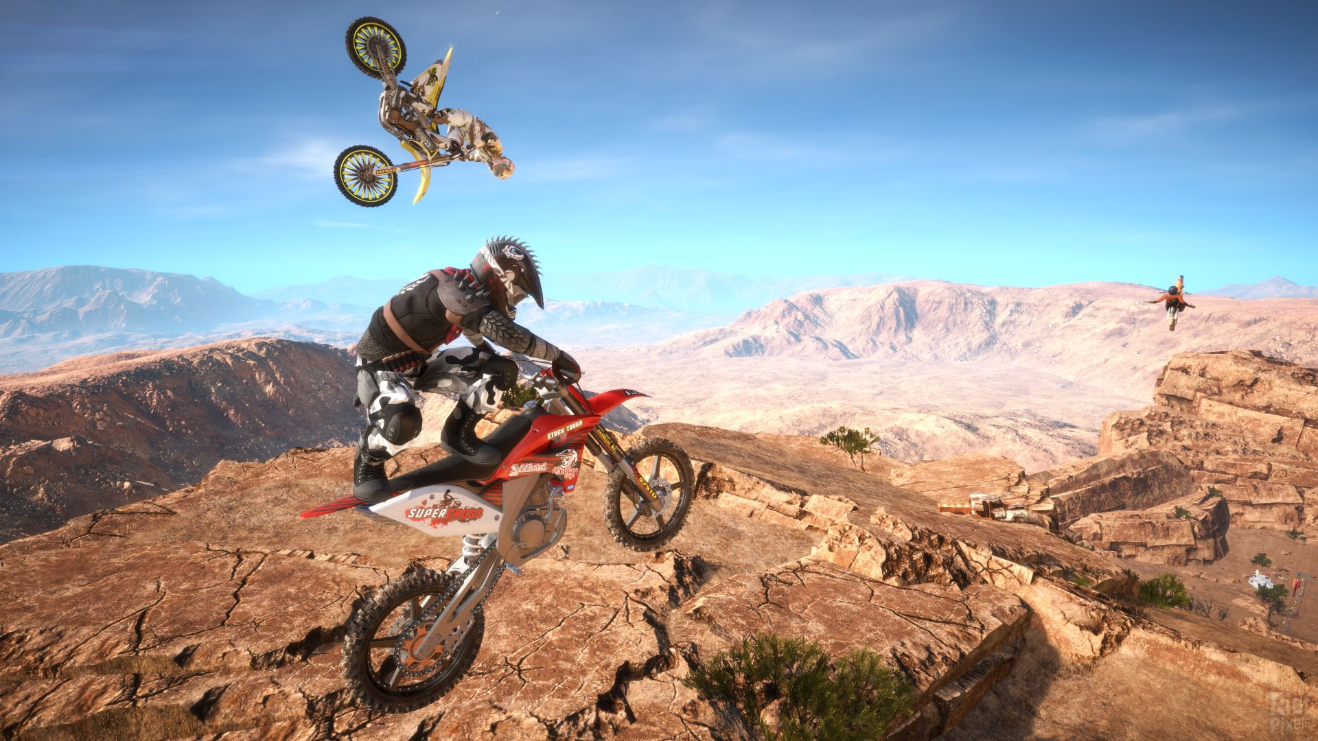 Dirt Bike Wallpaper Girls Wallpaper Mx Nitro Motocross Extreme Pc Xbox One Ps4