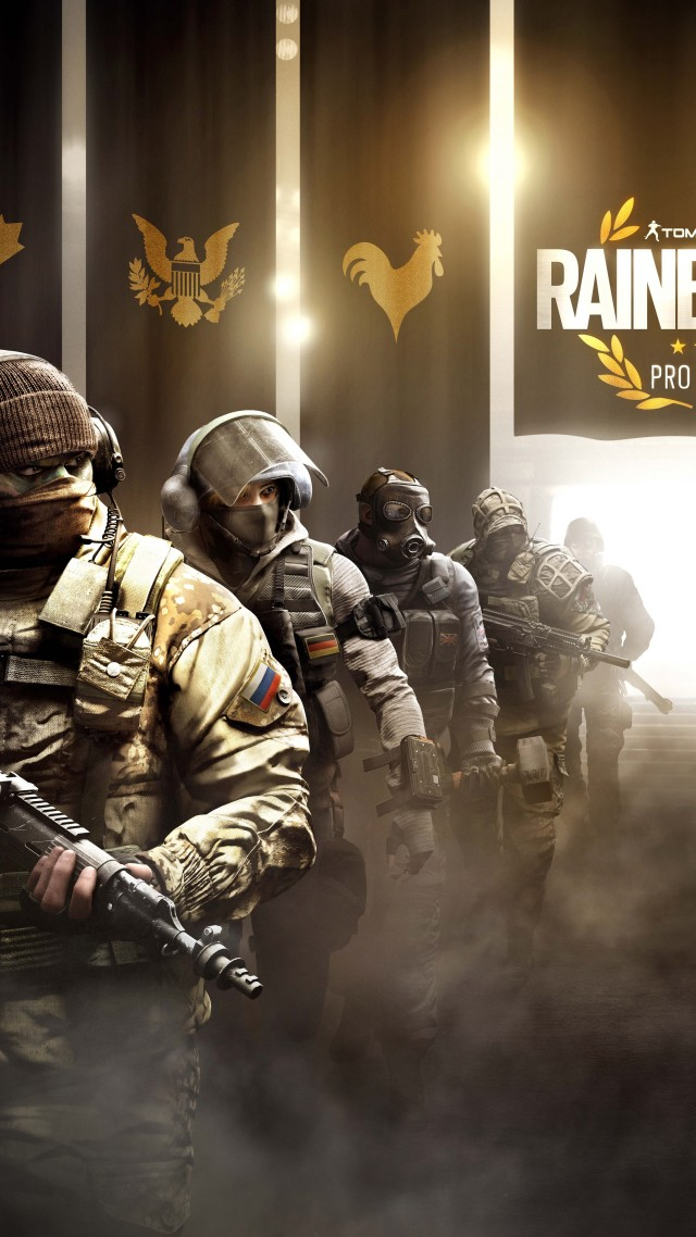 Iphone Ios 7 Animated Wallpaper Wallpaper Tom Clancy S Rainbow Six Pro League Operation