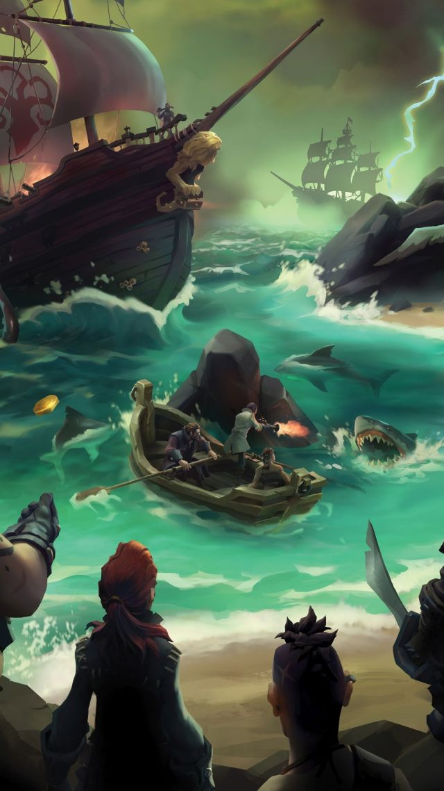 Wallpaper Sea Of Thieves Gamescom 2016 Pirates Best Games Pc Ps4 Xbox One Games 11835