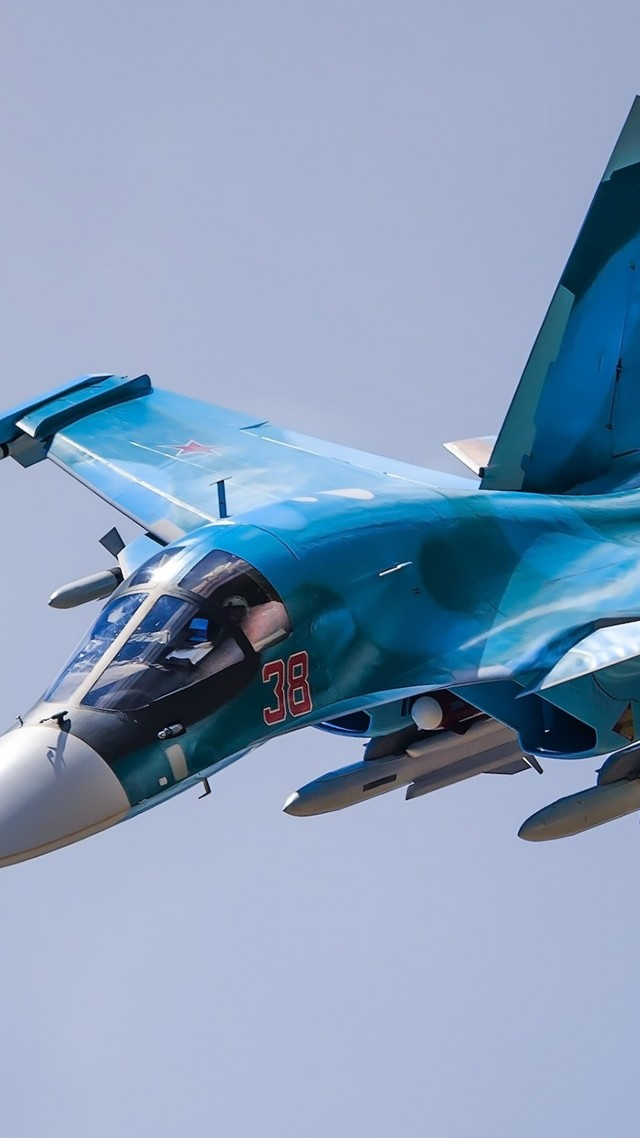 Cool For Girls Wallpapers Wallpaper Sukhoi Su 34 Fighter Aircraft Russian Army